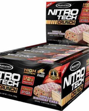 Nitro-Tech Crunch Bar (12 штук)