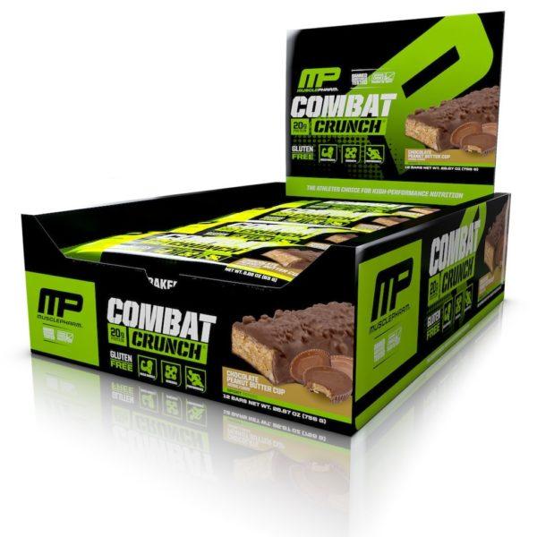 Combat XL Crunch Bar (12 батончиков)