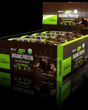Organic Protein Bars (12 батончиков)