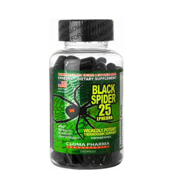 Black spider (100 caps)