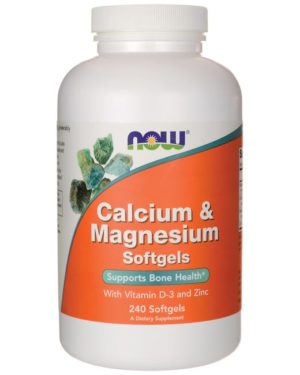 Calcium&Magnesium (240 softgels)