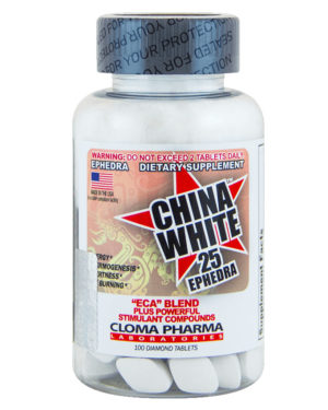 China white (100 tabs)