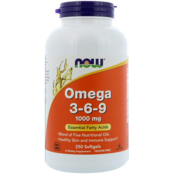 Omega 3-6-9 (250 softgels)