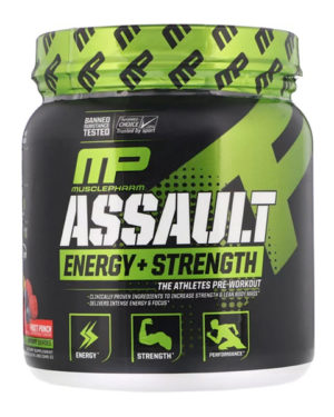 MusclePharm, Натиск энергии + сила,  (345 г)