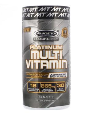 Platinum multivitamin (90 tabs)
