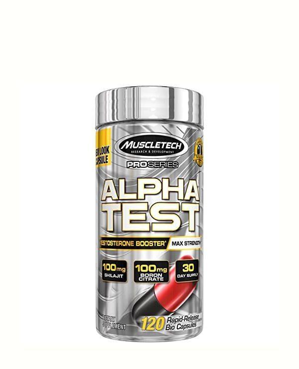 Alpha test (120 caps)