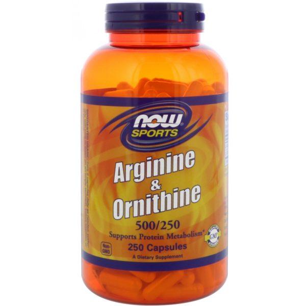 Arginine & Ornithine 500/250 (250 caps)
