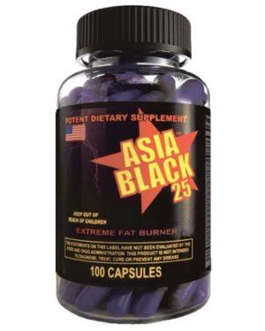 Asia Black (100 caps)