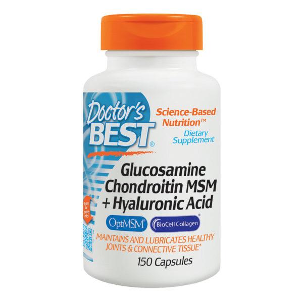 Glucosamine Chondroitin MSM+Hyaluronic Acid (150caps)