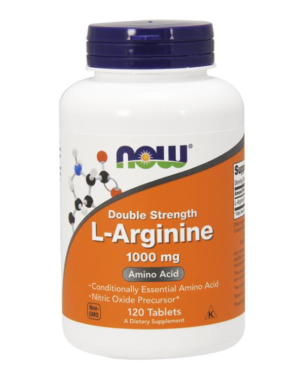 L-Arginine 1000mg (120 caps)