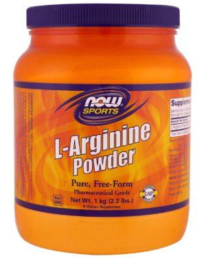 L-Arginine powder 1kg (167 порций)
