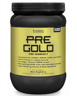 Pre Gold (energy,power,pump and focus)