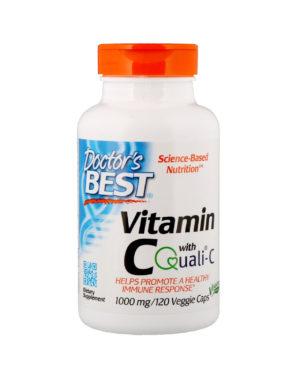 Vitamin C with Quali-C (120Veggie caps)