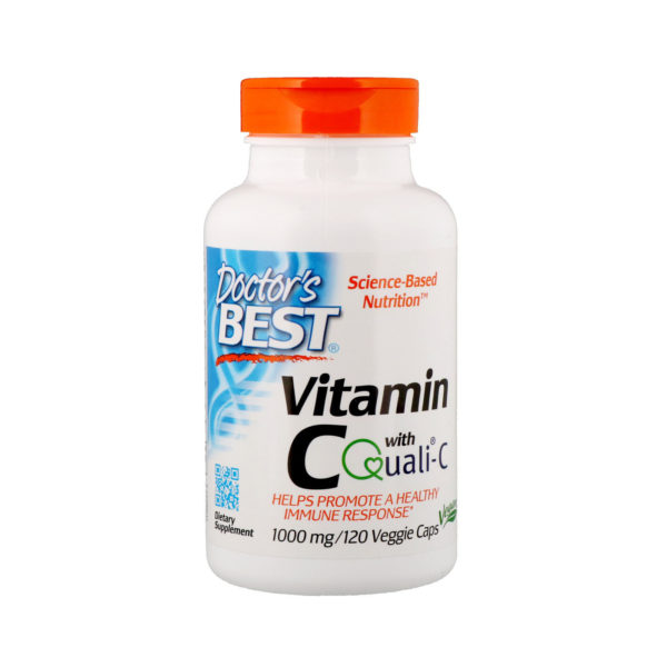 Vitamin C with Quali-C (120Veggie caps)
