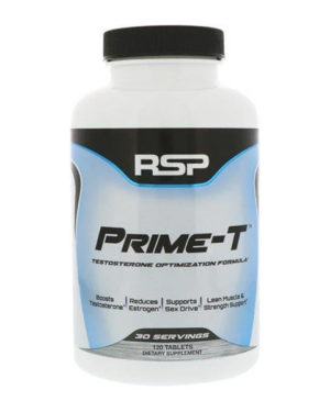 RSP Nutrition, Prime-T, 120 Tablets
