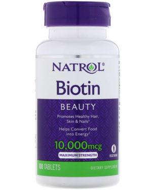 Biotin10,000 mcg (100 таблеток)