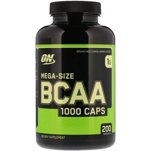 BCAA 1000, (200 капсул)
