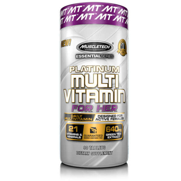 Platinum Multi-Vitamin for her (90 Таблеток)