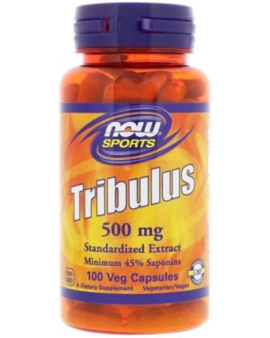 NOW Foods Tribulus 500 mg - 100 Капсул.