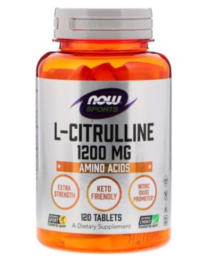 NOW L-Citrulline 1200 мг (120 капсул)