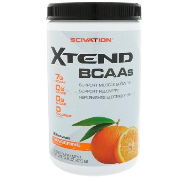 Scivation, Аминокислоты с разветвленной цепью Xtend, мандарин, 420 г