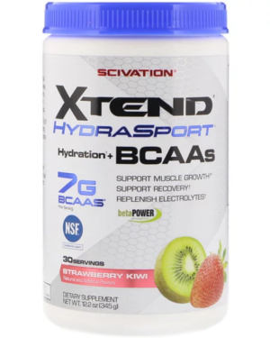 Scivation, Xtend HydraSport, Hydration + BCAAs