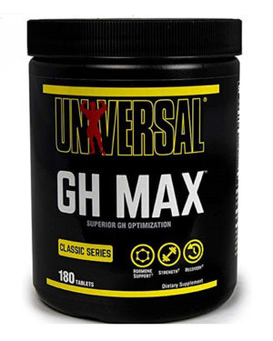 Universal Nutrition, GH Max, Superior GH Support Formula, 180 Tablets