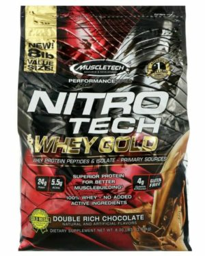MuscleTech Performance NITRO Tech 100 Whey Gold