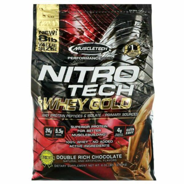 MuscleTech Performance NITRO Tech 100 Whey Gold