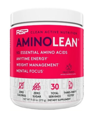RSP AminoLean Energy Formula Powder