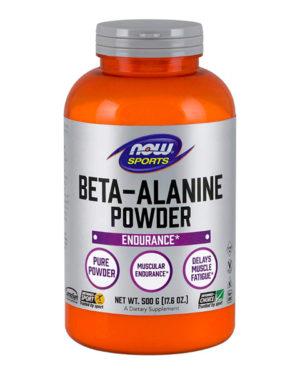 Now Sports BETA-ALANINE 100% PURE POWDER 500G