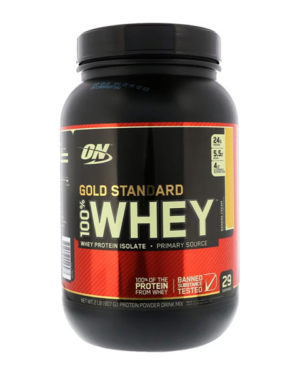 Optimum Nutrition, Gold Standard, 100% сыворотка, (907 г)