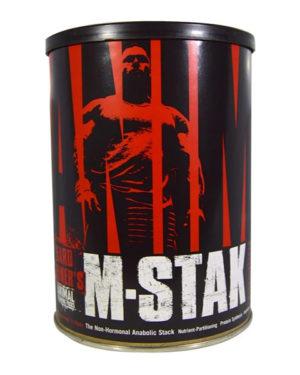 Animal M-Stak, негормональный анаболик, 21 пакетик