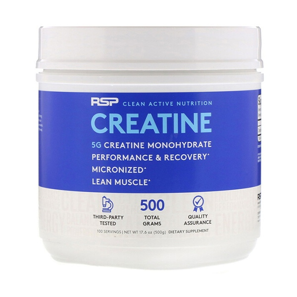 RSP Nutrition, Creatine Monohydrate (500 g)