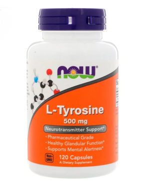 L-tyrosine 500mg (120caps)