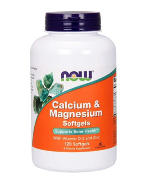 Now Foods, Calcium Magnesium 120 softgels