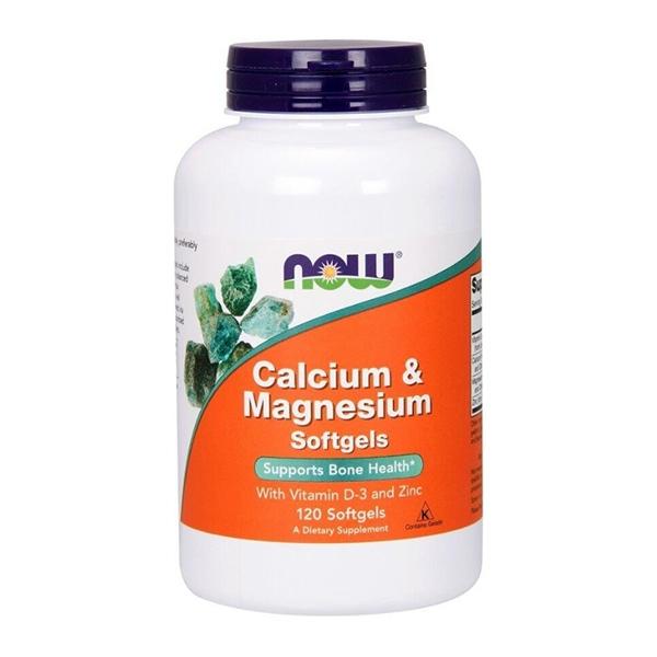 Now Foods, Calcium Magnesium 120 softgels