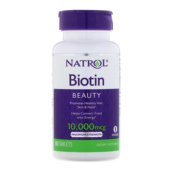 Natrol Биотин 10 000 мкг, 100 таблеток