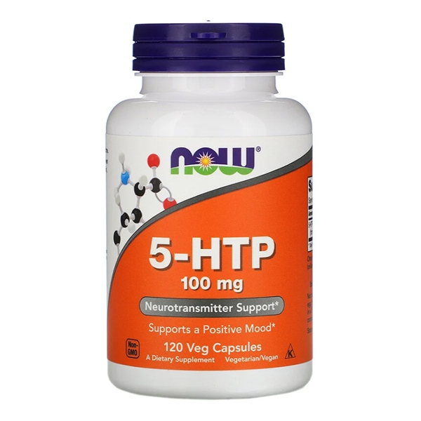 Now Foods, 5-HTP, 100 mg, 120 капсул
