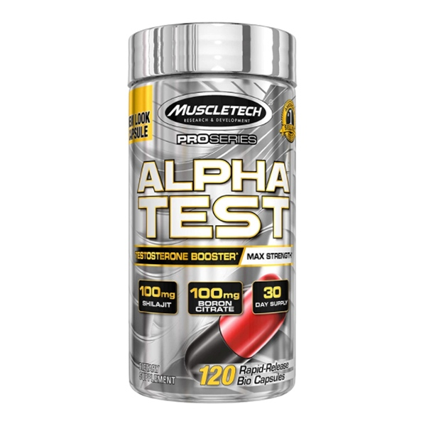 MuscleTech Alpha Test 120 капс.