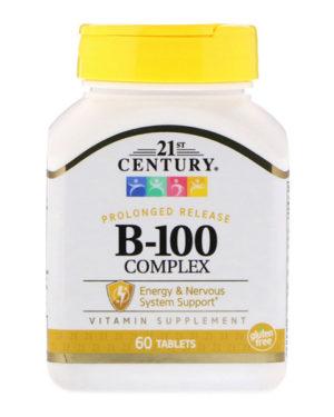 21st Century, B-100 Complex, 60 таблеток