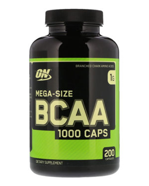 Optimum Nutrition BCAA  (200 капсул)