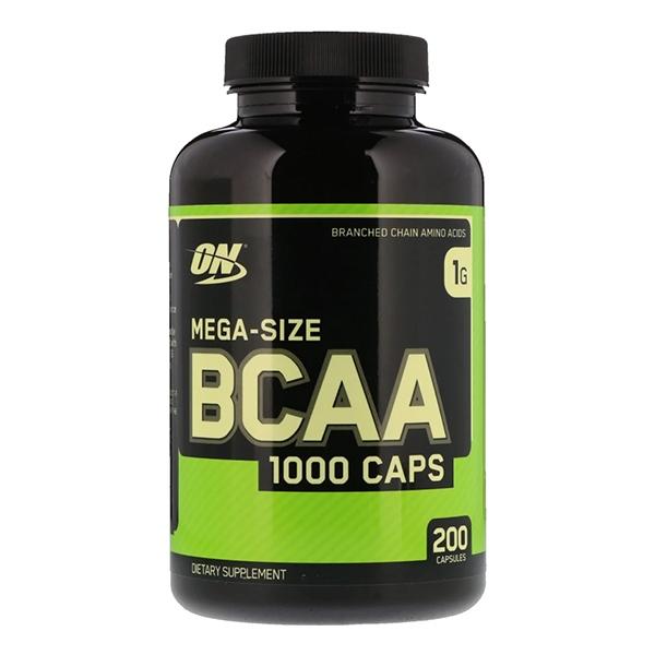 Optimum Nutrition BCAA  (200 капсул)