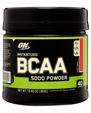 Optimum Nutrition, BCAA Powder 380g (40 порций)