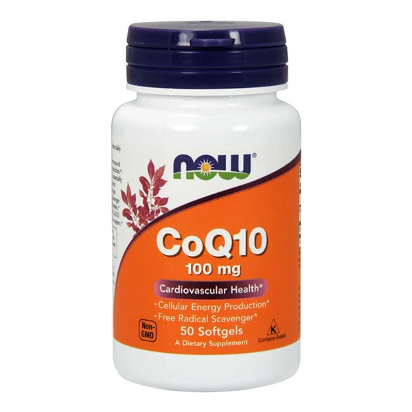 Now Foods, Коэнзим Q10 (CoQ10)