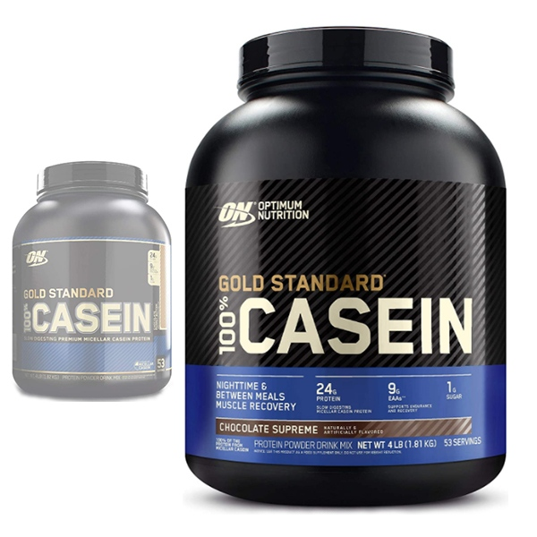 Optimum Nutrition, Gold Standard 100% Casein 4 lb (1.81kg)
