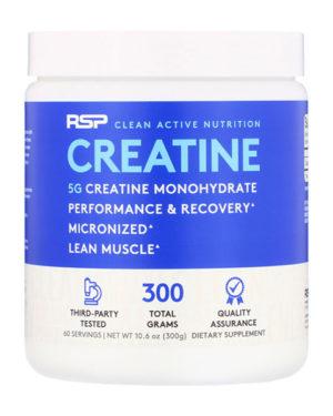 RSP Creatine Monohydrate 300g (60 порций)