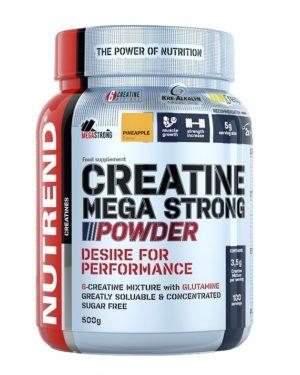 Nutrend Creatine Mega Strong Powder Pineapple 500 g
