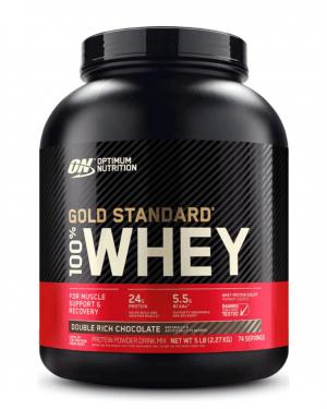 Gold Standard 100 % Whey DBL Rich Chocolate 5 LB