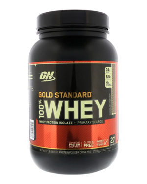 Optimum Nutrition, Gold Standard, 100% сыворотка, (907 г)